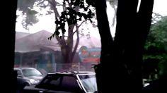Wow..Kejadian Alam Yang Bikin Merinding # Storm in Yogyakarta City