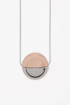 COS   Orb pendant necklace