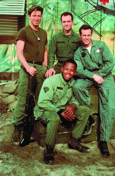Boonie, Dr. Richard, Beckett and Natch