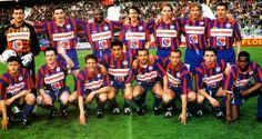 SM CAEN 1995-96  Debouts : Borrelli, Lièvre, Sommeil, Rival, Moreau, Glonek, Lebourgeois Accroupis : Michel, Lemarchand, Péron, Vahirua, Guerreiro, Priou, Dedebant, Héréson