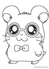 Hamtaro coloring pages on Coloring-Book.info
