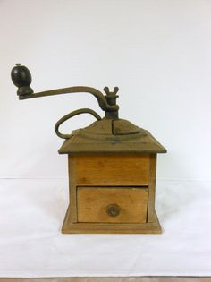 Antique Coffee Grinder by MikesRummageShop on Etsy, $37.00