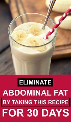 Eliminate Abdominal Fat By Taking This Recipe For 30 Days