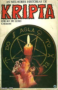 Edição Luxo Kripta #1 - RGE (1976) - Quadrinhos de terror, suspense, ficção e sobrenatural