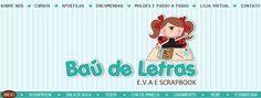 .::BAÚ DE LETRAS::. E.v.a. e Scrapbook: ♥ Domingo Criativo [com passo a passo]