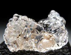 Hyalite (glass opal) from Waltsch, Bohemia, Czech Republic