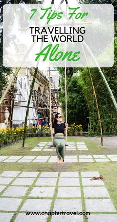7 tips for Traveling the World Alone is part of Tips For Traveling The World Alone Chapter Travel - Thinking of going solo Kaitlyn Knoll from Wayfarerkate has come to the rescue and gives you her 7 tips for traveling the world alone Solo Travel Tips, Travel Advice, Travel Hacks, Travel Ideas, Travel Stuff, Singles Holidays, Online Travel Agent, Single Travel, Best Places To Travel