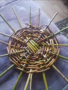 willow basket weawing techniques
