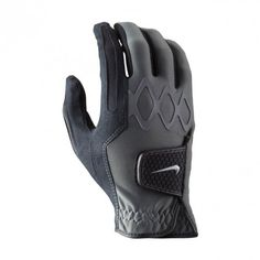 Nike  Men's All Weather II Regular Golf Gloves, Black, Large