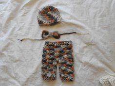 3pc pant set outfit hat  size newborn. Ready by TinyAngelsBoutique, $16.00