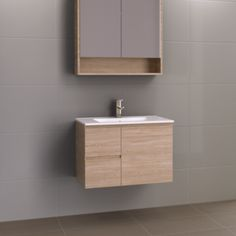 Timberline Nevada Wall Hung Vanity With Alpha Top Floating Cabinets, Floating Vanity, Mirror Cabinets, Bathroom Stand, Small Bathroom, Classic Style Bathrooms, Laundry Tubs, Wall Hung Vanity, Best Bathroom Designs