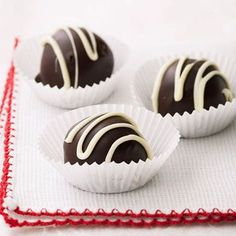 oreo Truffles: These easy candies look elegant but are simple to make. The recipe comes from chef Anthony Schulz at the Inn and Spa at Cedar Falls in Logan, Ohio. He says kids, especially, have fun making these truffles.