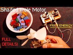 FREE ENERGY/OVERUNITY Shaded Pole Motor Generator! - YouTube