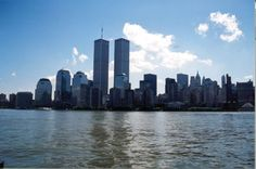 We remember September 11, 2001. New York City Twin Towers