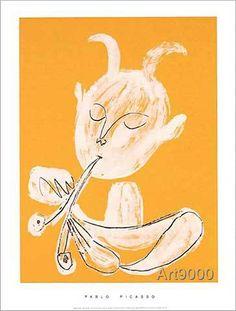 Pablo Picasso - Faune blanc, 1946