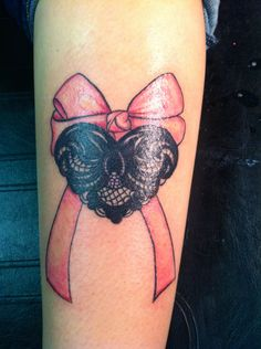 One of my favorite tattoos I've done, so girly! (: