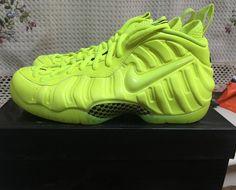 reputable site 98d16 00aa7 Nike Air Foamposite Pro Basketball Shoes Volt Black MFC Tennis