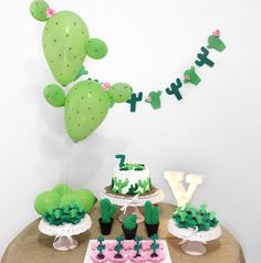 50 ideas for a cactus party - - Mexican Birthday Parties, Mexican Party, Llama Birthday, 2nd Birthday, Balloon Garland, Balloons, Fiesta Theme Party, Deco Table, Diy Party