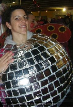 1 todo halloweenBola de discoteca