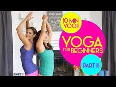 Yoga For Beginners - Part III | Natalie Jill - YouTube