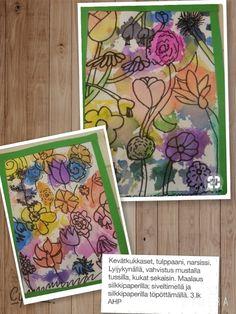 Kevät. Kukkaset. 3.lk/AHP