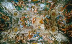 Grand Salon of Palazzo Barberini (Rome) - Triumph of Divine Providence (Pietro da cortona, 1633)