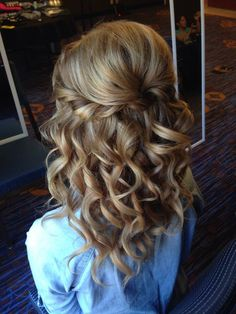 - - Hairstyles half open - # Hairstyles # half open - New Site - – – hairstyles half open – # hairstyles # half open – – - Diy Wedding Hair, Elegant Wedding Hair, Wedding Hair And Makeup, Wedding Nails, Mother Of The Groom Hairstyles, Mother Of The Bride Hair, Hairstyle Bridesmaid, Homecoming Hairstyles, Open Hairstyles