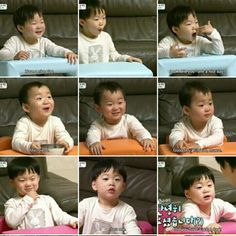 Cute expression of Triplets