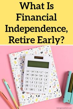 What Is Financial Independence, Retire Early? Answers To FAQs About FIRE. Have you heard of the FIRE movement and early retirement, and are wondering what it all means? Earn Extra Cash, Extra Money, Managing Your Money, Early Retirement, Financial Goals, Finance Tips, Money Management, Money Saving Tips, Personal Finance