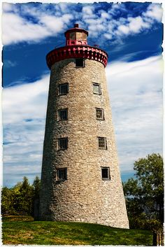 Windmill Point Lighthouse   Prescott, Ontario, Canada
