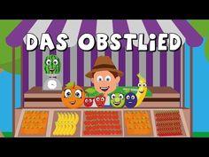 Das Obstlied - Kinderlieder zum mitsingen - Obst lernen - german fruit song - YouTube