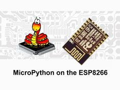 MicroPython on the ESP8266: beautifully easy IoT project video thumbnail