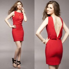 V Back Dress - $20.23 on @ClozetteCo