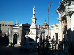 Recoleta Cemetary in Buenos Aires  Eva Peron is buried here