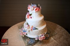 Jessica + Taylor's wedding at Lenora's Legacy. An amazing cake by Holly's Cakes.
