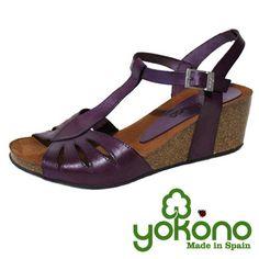 Cuña color violeta