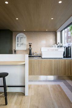 Home Decoration Cheap Ideas Code: 5274646745 Restaurant Interior Design, Commercial Interior Design, Commercial Interiors, Interior Shop, Coffee Shop Design, Cafe Design, Hygge, Counter Design, Hospitality Design