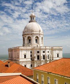 Santa Engracia Church - National Pantheon - Travel in Portugal Photos