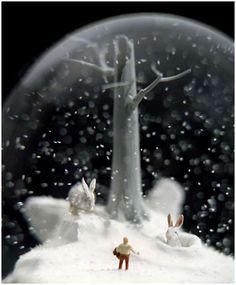 antique snowglobe - Bing Images