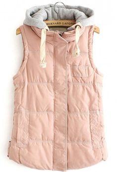 || pink cotton vest ||