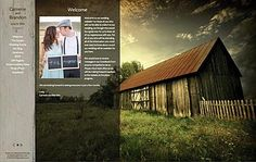 Free Mobile-Friendly Wedding Website Theme from WeddingWindow.com called Bliss Wood. Responsive Design.