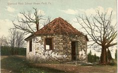 Beidler/Beitler children may have attended school in the Diamond Rock Schoolhouse, in Chester County, PA.