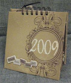 Anneli design: Kalender 2009