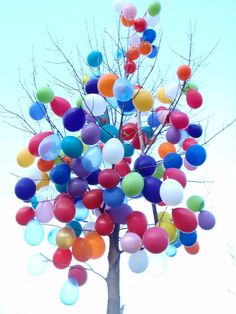Balloon Tree by cdodd.deviantart.com on @deviantART