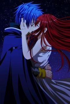 Jellal and Erza - Fairy Tail
