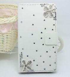 #Diamond #flower #wallet card holder pu leather flip case cover for htc phone u,  View more on the LINK: http://www.zeppy.io/product/gb/2/221947283021/