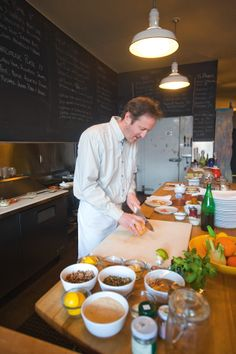 Chef Kevin Gibson @ Evoe in Portland, Oregon