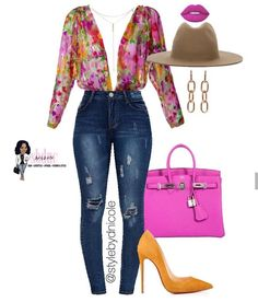Ni'Cole inspired look. Classy Casual, Classy Outfits, Stylish Outfits, Cute Fashion, Look Fashion, Fashion Outfits, Womens Fashion, Looks Jeans, Estilo Fashion