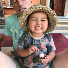 Mini-V loving her time in #ubud #Bali #mangosteen time off for this little #lotusbaby and some #pampering #lotusbabydesign checkout @youngruraladies latest post for #themarketplace http:/bit.ly/2lyuxnj #babystyle #handmadebaby #madeinwanaka #cute #toddlerfashion #babyharempants #clothnappy