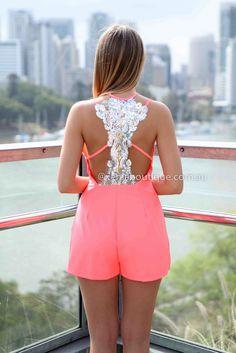 SAVANNAH PLAYSUIT , DRESSES, TOPS, BOTTOMS, JACKETS & JUMPERS, ACCESSORIES, SALE, PRE ORDER, NEW ARRIVALS, PLAYSUIT, COLOUR, GIFT CERTIFICATE,,Pink,LACE,CUT OUT,Sequin,BACKLESS,SLEEVELESS Australia, Queensland, Brisbane